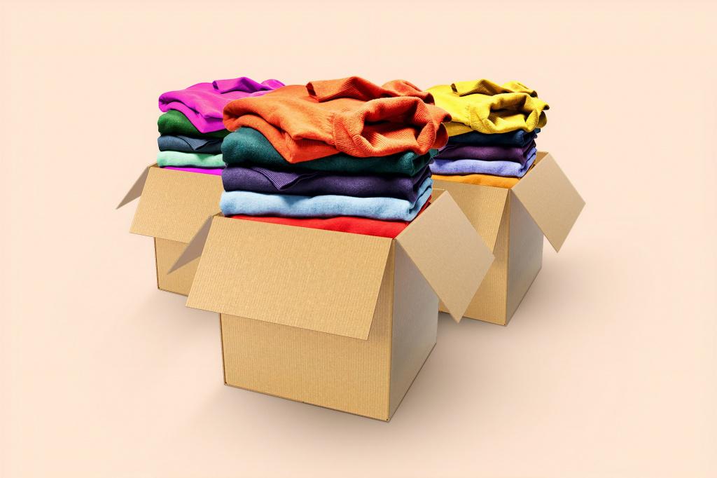 Как упаковать одежду для переезда