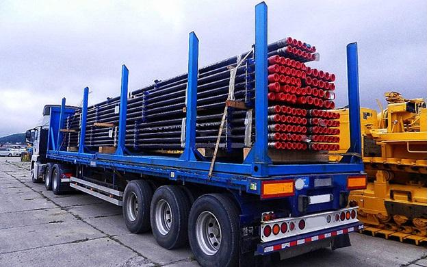Особенности перевозки металлопроката автотранспортом