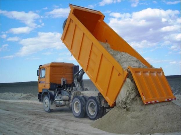Особенности перевозки насыпных грузов автотранспортом